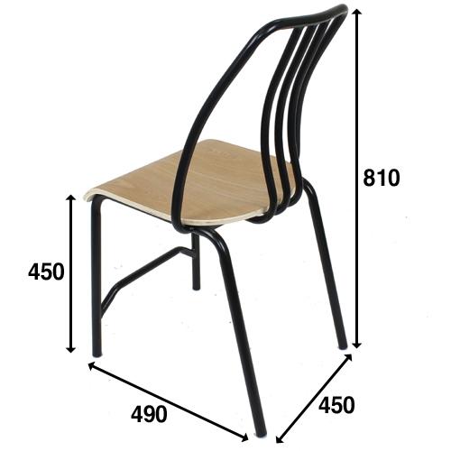 PS-9102 (철재의자,우드라인,업소용의자,줄리아2,식당의자,카페의자)